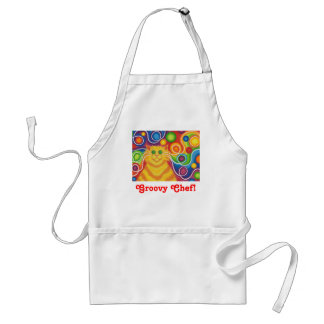 Psy-cat-delic 'Groovy Chef' apron