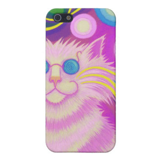 Psy-cat-delic Pink  iPhone 5 Case