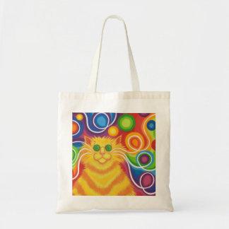Psy-cat-delic tote bag