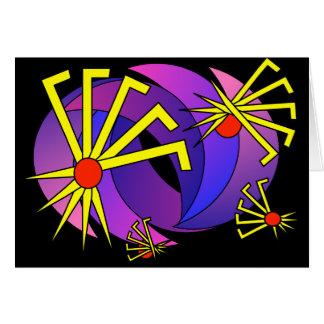 psy hippie tarantula peace earth lover kiss lgbt card