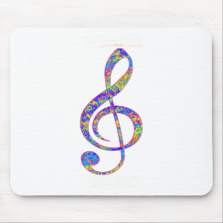 Psy music mouse pad