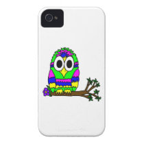 Psy Owl iPhone 4 Cover