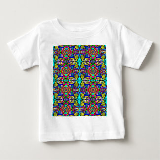 Psycedellic Pattern 3 - Trippy and Bright All-Over Baby T-Shirt