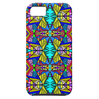 Psycedellic Pattern  - All-Over - Blue iPhone SE/5/5s Case