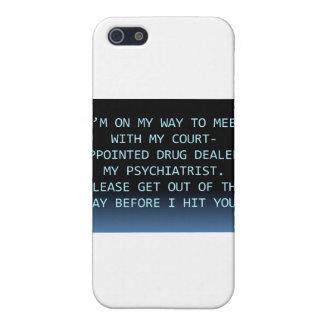 PSYCH DRUG DEALER iPhone SE/5/5s CASE