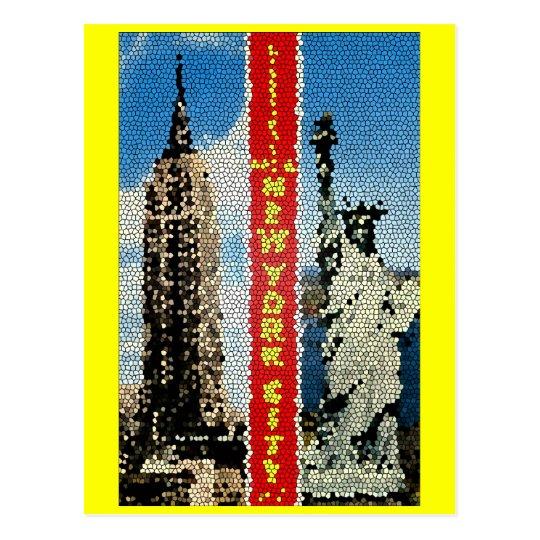 Psych Greetings, New York City Postcard