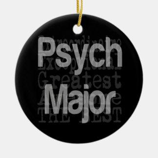 Psych Major Extraordinaire Ceramic Ornament