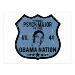 Psych Major Obama Nation Postcard