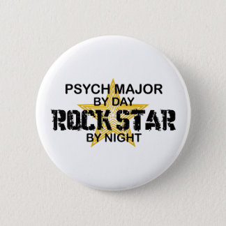 Psych Major Rock Star by Night Button