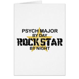 Psych Major Rock Star by Night Card