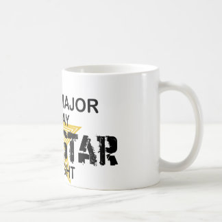 Psych Major Rock Star by Night Classic White Coffee Mug