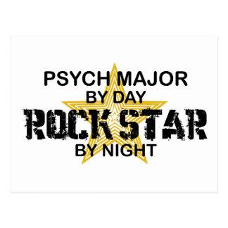 Psych Major Rock Star by Night Postcard