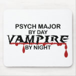 Psych Major Vampire by Night Mouse Mat