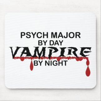 Psych Major Vampire by Night Mouse Pad