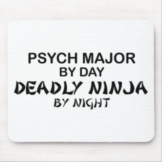 Psych Ninja mortal importante Alfombrilla De Ratones