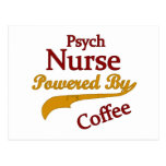 Psych Norse Powered By Coffee Post Cards