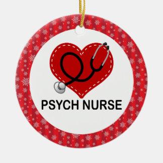 Psych Nurse Christmas Gift Ornament