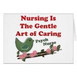 Psych Nurse Greeting Card