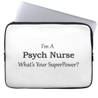 Psych Nurse Laptop Sleeve