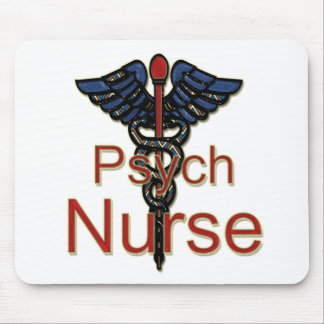 Psych Nurse Mouse Pad