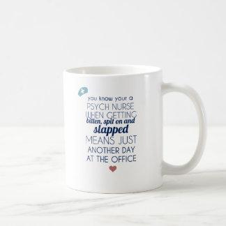 Psych Nurse Coffee Mug