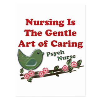 Psych Nurse Postcard