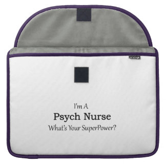 Psych Nurse Sleeve For MacBook Pro