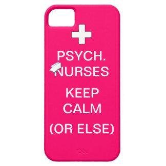 Psych Nurses Keep Calm /Bubble Gum Pink iPhone SE/5/5s Case
