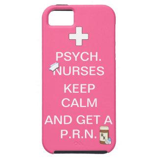 Psych Nurses Keep Calm & Get PRN/Humor iPhone SE/5/5s Case