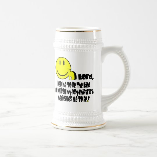 Psych T. Light Colors Beer Stein