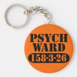 Psych Ward Basic Round Button Keychain