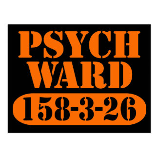 Psych Ward Postcard