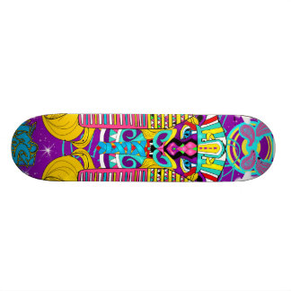 Psychadelic Beast King Skateboard Deck