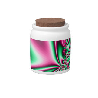 Psychadelic Butterfly Candy Jar