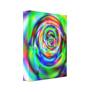 Psychadelic design canvas print