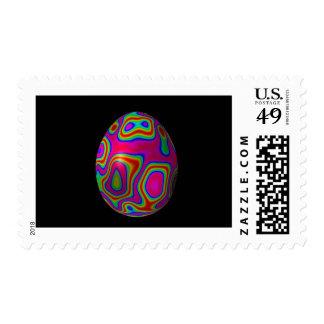 Psychadelic Easter Egg 5 Stamps