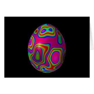 Psychadelic Egg 5 Card