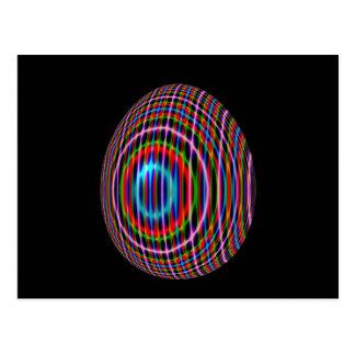 Psychadelic Egg 9 Postcard