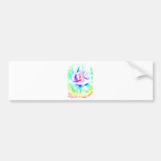 Psychadelic Mushroom Alice in Wonderland Car Bumper Sticker