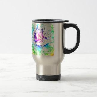Psychadelic Mushroom Alice in Wonderland Travel Mug