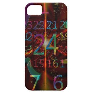 Psychadelic numbers pattern, mesmerising design iPhone SE/5/5s case
