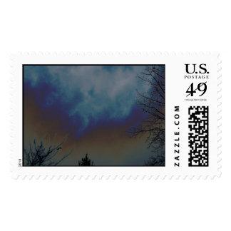 Psychadelic Sky Stamp