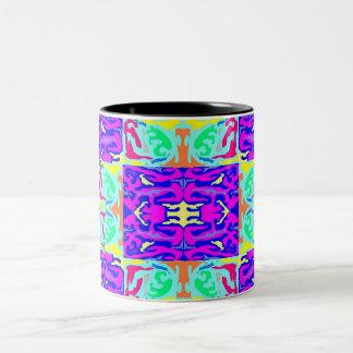 Psychadelic Tiles Mug