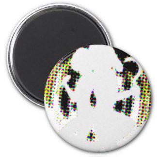 Psychadellic 2 Inch Round Magnet