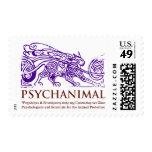 psychanimal postage stamps