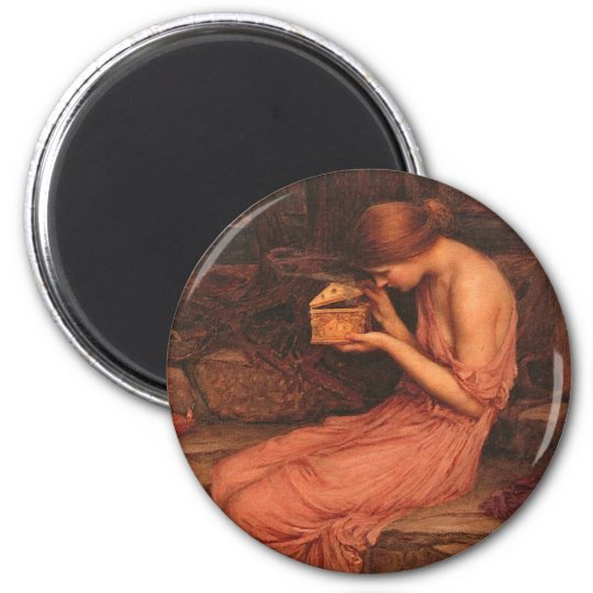 Psyche and Golden Box Magnet