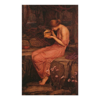 Psyche and Golden Box Print