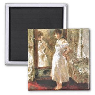 Psyche Berthe Morisot Fine Ar Magnet