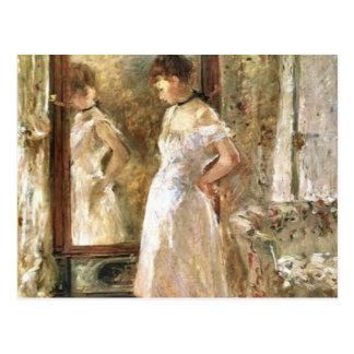 Psyche Berthe Morisot Fine Ar Postcard