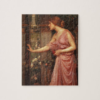 Psyche Entering Cupid's Garden by Waterhouse Jigsaw Puzzle